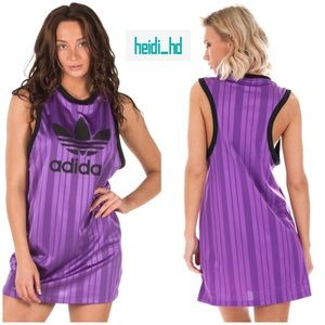 Adidas Originals Purple Tank Dress